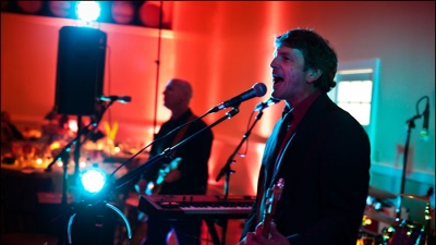 Little Known Legends band performing live for a corporate event