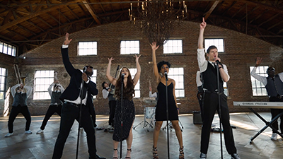 Revel Radio perform at a private wedding