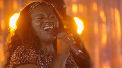 Seven Til Sunrise female singer performing live for formal private event