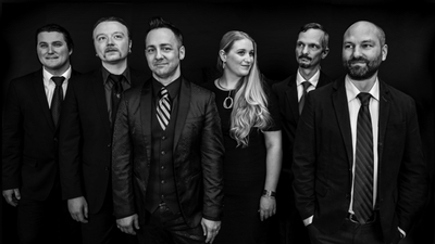 Significant Others The promotional photo formal with band looking in different directions